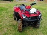 The Kawasaki KVF300 ATV biggest selling point, according to Brent Lilley, is its automatic transmission.