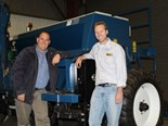 From left: Wade Smith from Agrowplow and Shannon McNab of Davimac