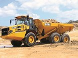 Bell E-series articulated dump truck