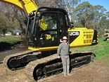 JCB JS240LC excavator answer to contractor's safety fears