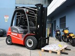Manitou MI25D forklift review