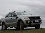 The new Ford Ranger Wildtrak ute: classy way of chasing sheeps around the farm