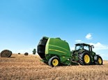 Tested: John Deere's revolutionary 990 variable chamber round baler from its new 900 series.