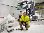 Scania build indoor weather machine