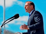 Primt Minister Tony Abbott has announced a $320M package to ease the pain of drought affected farmers.