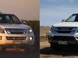 Review: Isuzu D-MAX ute vs Isuzu MU-X SUV