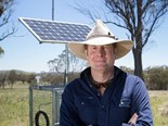 Professor David Lamb is the man behind the farm with a difference - the Armidale Smart Farm, also known as the Kirby Farm.