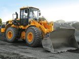 The bucket on the 2010 Hyundai HL760-7A loader has been extended.