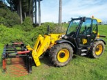 The JCB 531-70 Loadall is a valuable machine to have where heaps of lifting and loading is involved.