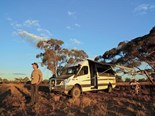 The Trakka Jabiru 4x4 motorhome took us all the way to Mungo National Park and back without a hassle.