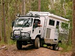 The SLR Caravans Adventurer 4X4 motorhome is a 4WD machine made for serious off roading.