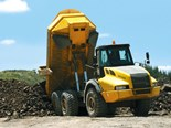 The Astra ADT40C's low centre of gravity makes it an excellent dump truck over rough terrain.