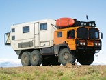 Overland Kiwi started life as a German military MAN Kat 1 6x6 fuel carrier.