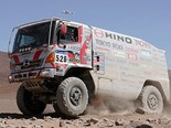 Hino 500 Series at the Dakar rally