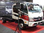 Hino used the ITTES to launch the eight models of its new  300 series of trucks.