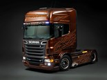 Scania's Black Amber to shine at Brisbane Truck Show