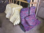 Some of the seats commissioned at TransFab