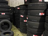 Tyres received for retreading