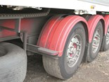 Super single truck wheels and tyres, being advocated for bus tag axles