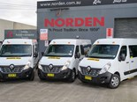 The Master Bus design is easy to work with, so Norden has purchased one for demonstration use