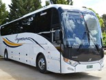 Just one of the four new Volvo-King Long combos that was delivered to Seymour Coaches earlier this year.