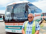 Brisbane Bus Lines managing director Ian Mitchell