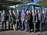 Sydney driverless bus trial