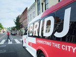 Bridj technology groups nearby passengers with similar travel requirements and provides walking directions to their closest pick up location