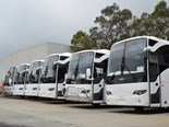 The number of new bus deliveries reported throughout Australia has increased hugely in October