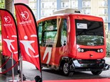 TRANSDEV PARTNERS AUTONOMOUS BUS TRIALS