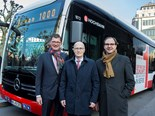 "DAIMLER DELIVERS FIRST ""PRODUCTION RUN"" E-CITARO ELECTRIC BUS"