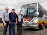 This is Australia's most powerful coach to date ever! At in excess of 500hp this MAN Euro 6c three-(tag)axle coach is a monster.