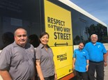 The campaign is an important initiative to combat anti-social behaviour and for passengers to be mindful of their bus drivers.