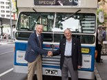 RESTORED AND RETRO BRISBANE 'PANTHER' BUS UNVEILED