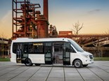 The standard auxiliary brake - which delivers 350Nm of braking output - and the numerous assistance systems make the minibus one of the safest in its segment, MB explains.