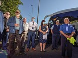 FAMILY BUS BUSINESS SOLIDARITY SHOWN; NSW RALLY SUCCESS