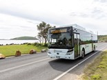NSW COFFS HARBOUR E-BUS TRIAL BEGINS