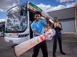 FORMER INTERNATIONAL CRICKETERS NOW MELBOURNE BUS DRIVERS
