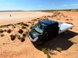The Renault Master can indeed handle itself out amongst the red dust and blow flies.