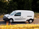 A 44kW electric motor propels the Renault Kangoo ZE forward.