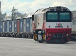 Fremantle container rail leads the pack
