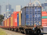 DP World-SCT port shuttle underway in Melbourne