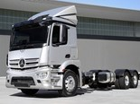 Actros rigid family to debut at truck show