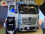 New Mercedes-Benz Actros won the best heavy duty truck award.