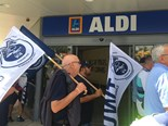 Aldi is facing TWU protests across mainland states