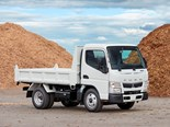 Fuso Canter tipper can carry extra 500kg payload