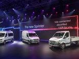 Mercedes-Benz delivers intelligent new Sprinter