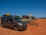At the WA/NT border near Docker River.