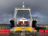 New King Island shipping service launched officially.