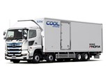Hino to launch new hybrid power cooling system